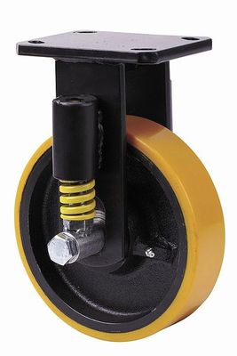 Alex Wheels and Castors presents the range of heavy duty castors HLS with suspension