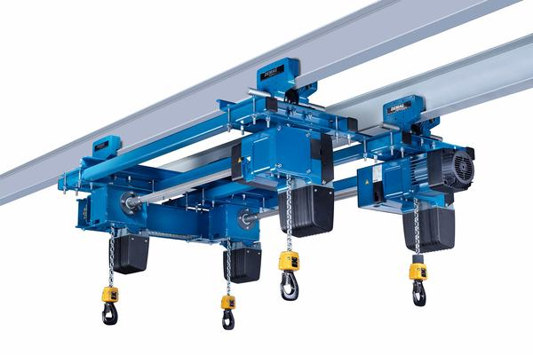 Demag quadro chain hoist for a broad range of applications