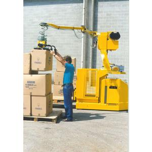 Liftruck® by SCAGLIA INDEVA: an electronic manipulator integrated into a pallet truck or forklift