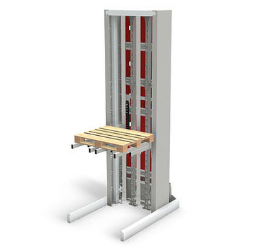 Qorarox Prorunner mk9 modular lift for pallets up to 1,500 kilos