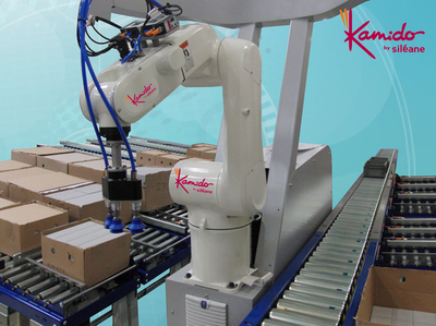 Siléane, receives the CFIA Innovation Award for KAMIDO robot for bulk handling applications