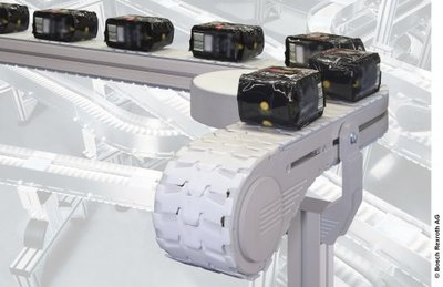 VarioFlow over Rexroth, the new generation of chain conveyor